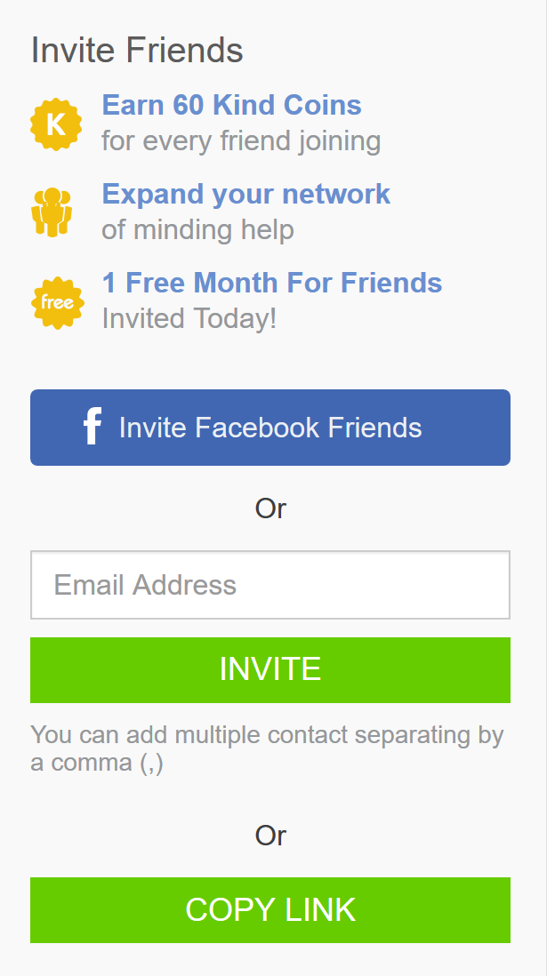 Inviting Friends