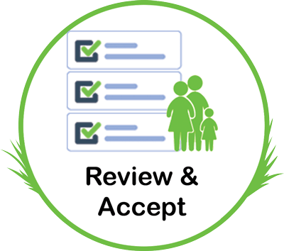 Review & Accept Help